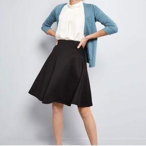Modcloth En Pointe Accompanist A-Line Skirt NWT